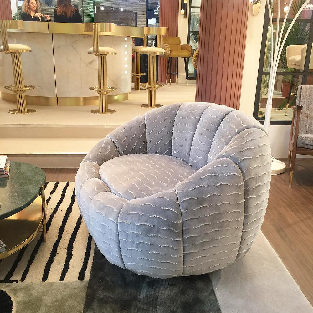 Maison and Objet, January 2019. Swivel Chair