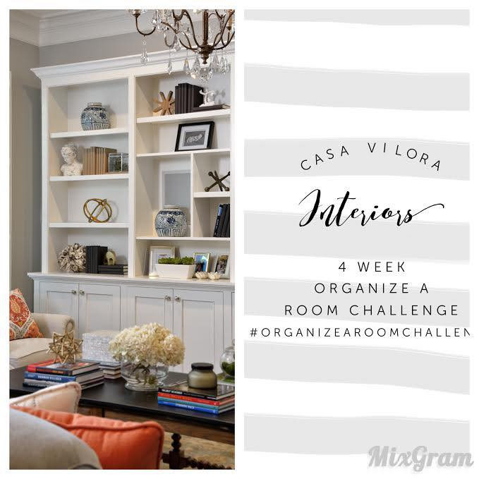 4 Week Organize A Room Challenge