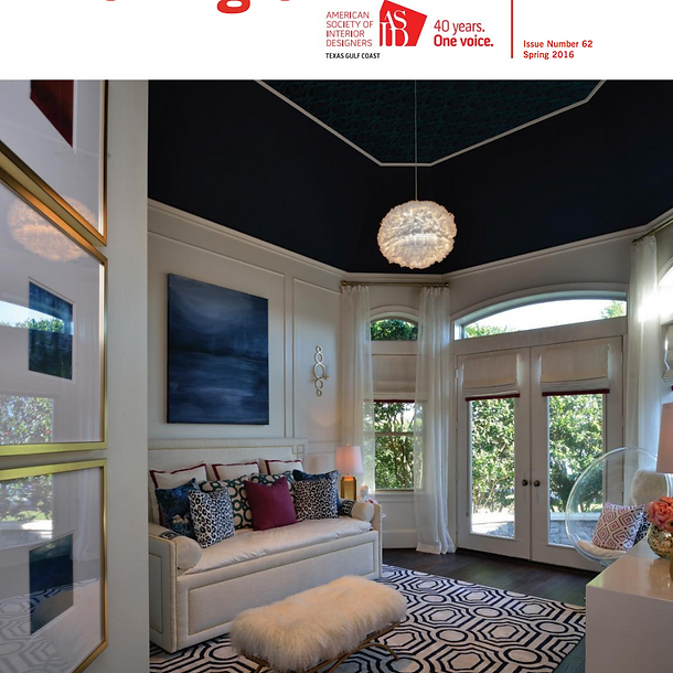 ASID TGCC Angle Magazine - Cover - Spring 2016