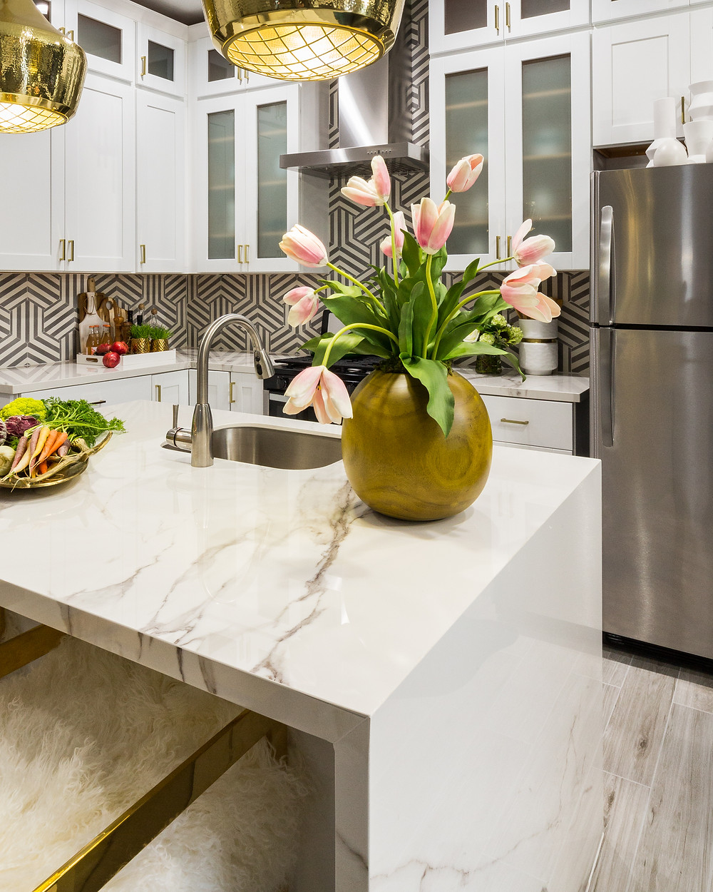 Kitchen designed by Veronica Solomon