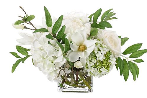 Hydrangea and Magnolia