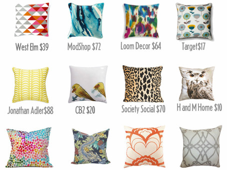 Pretty Pillows And Where To Find Them