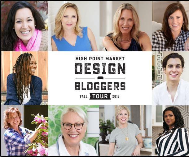 Design Influencer - High Point Market Fall Design Bloggers Tour 2018