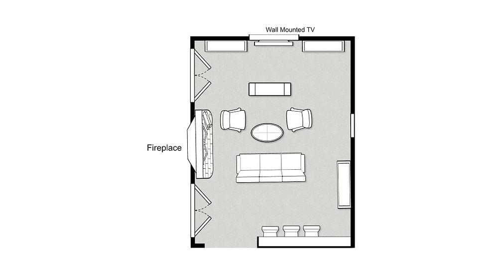 Casa Vilora Interiors floorplan