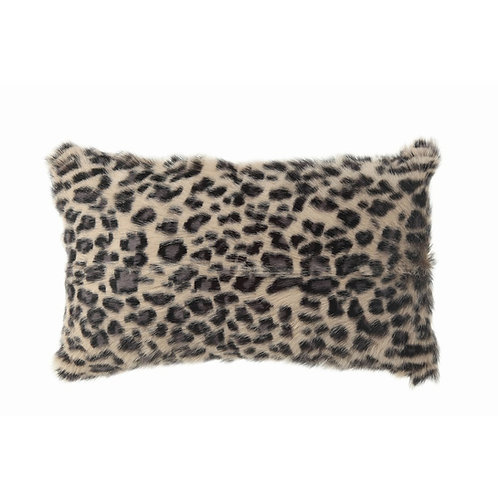 Goat Fur Pillow 20x12 - Pair