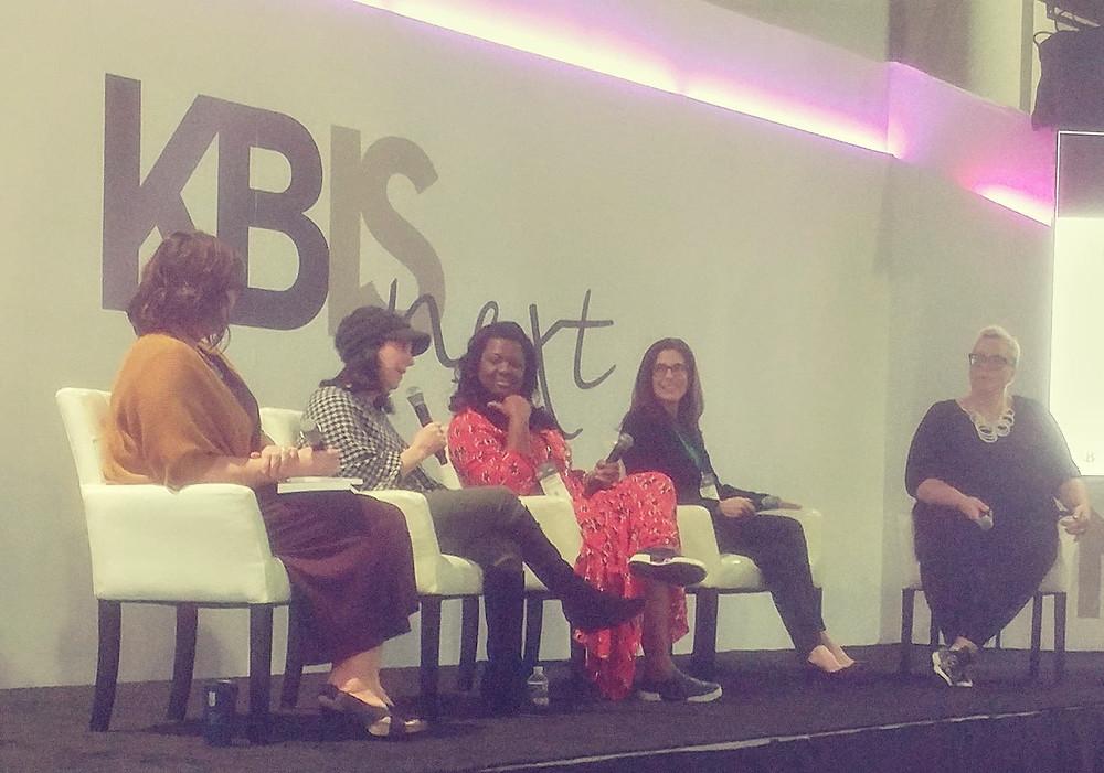 Panelists: Kimberley Seldon, Claire Jefford, Veronica Solomon, LuAnn Nigara and Moderator, Veronika Eagleson