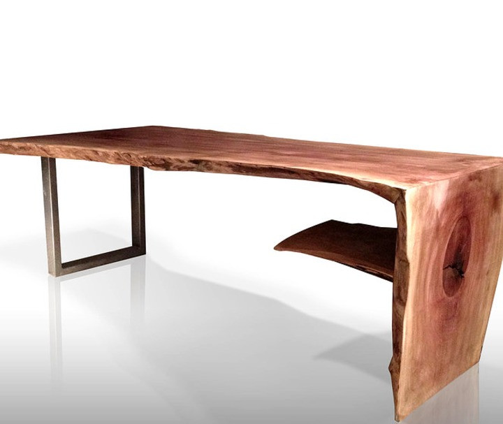 Wooden Waterfall Coffee Table by Paul Kruger