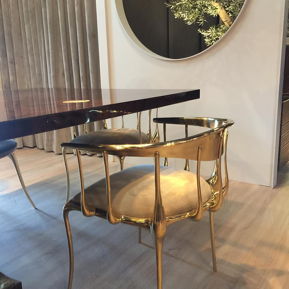 Maison and Objet, January 2019. Brass chair