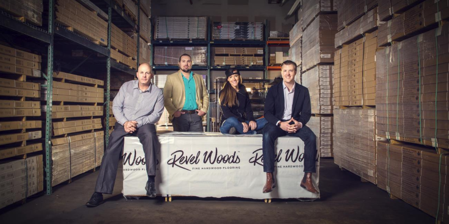 The founders of Revel Woods