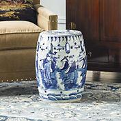Decorating With Ceramic Garden Stools