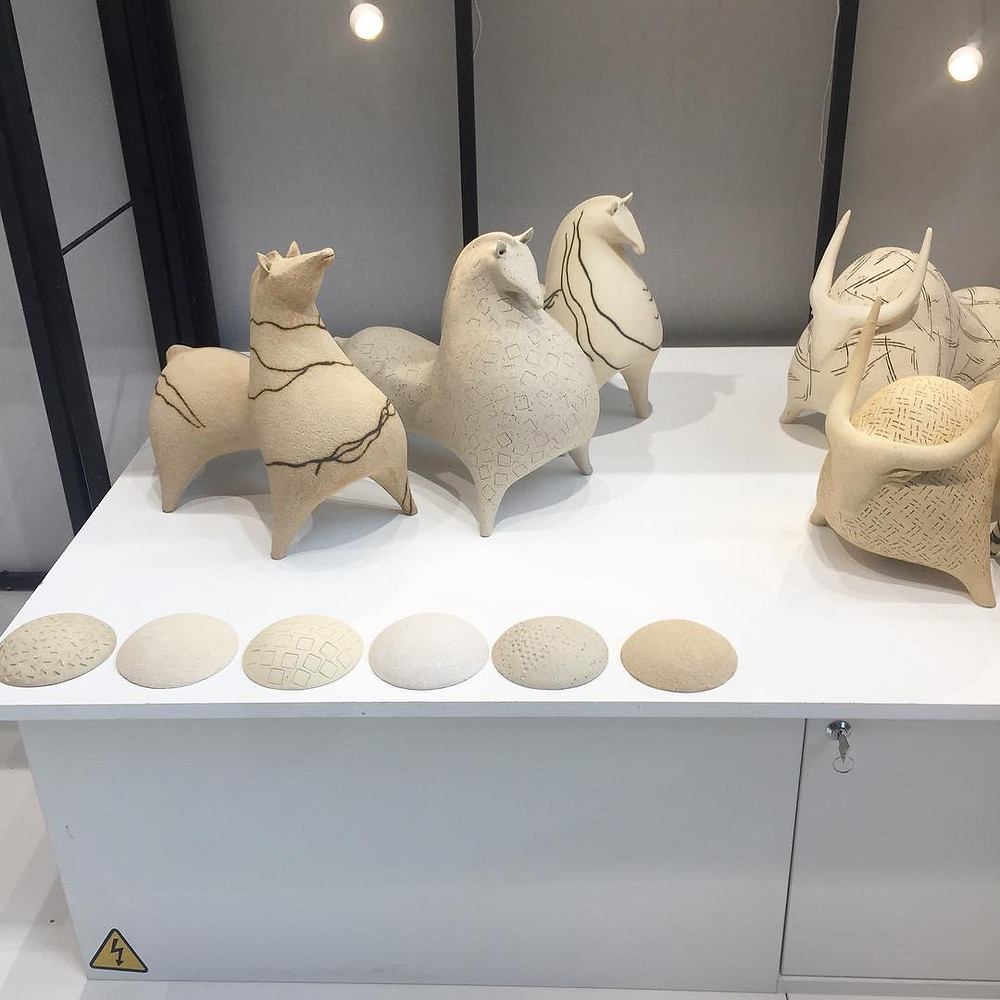 Maison and Objet, January 2019. Ceramic horses