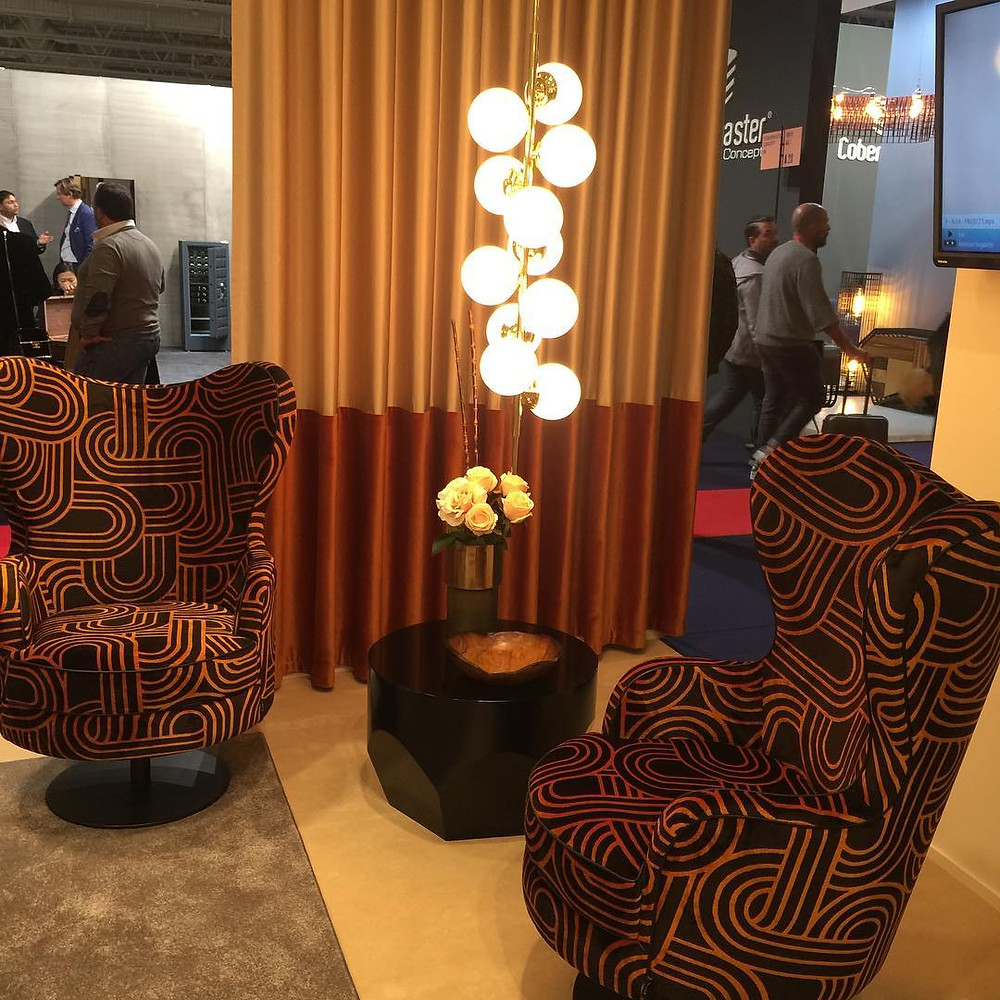 Maison and Objet, January 2019. Wing back with a spin