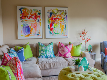 3 Tips To Using Bright Colors In Your Home