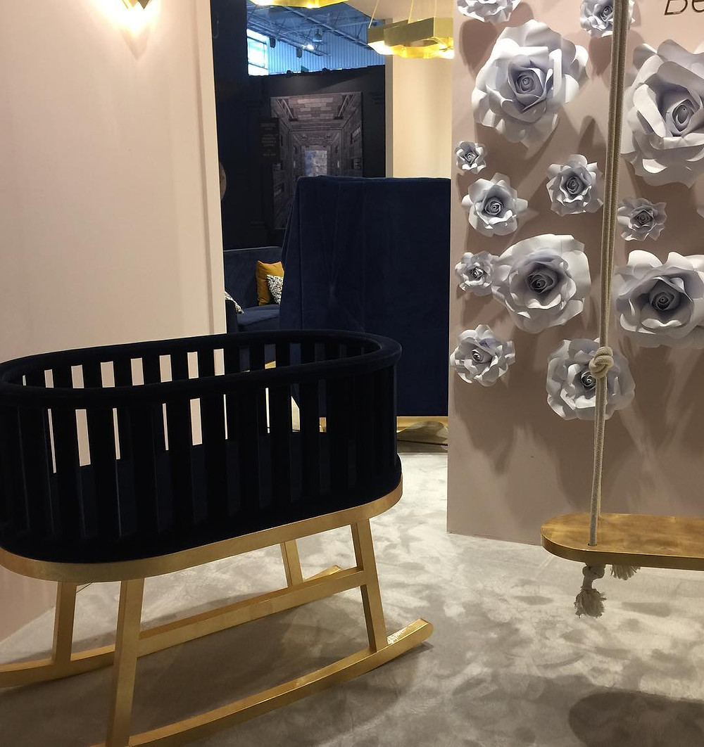Maison and Objet, January 2019. Fancy cradle