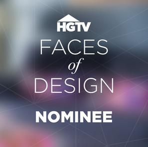 HGTV Faces of Design Nominee 2018
