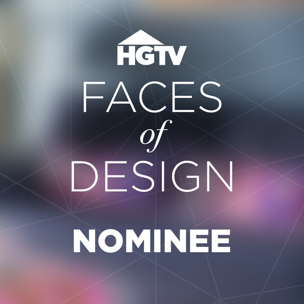 HGTV Faces of Design Nominee 2018