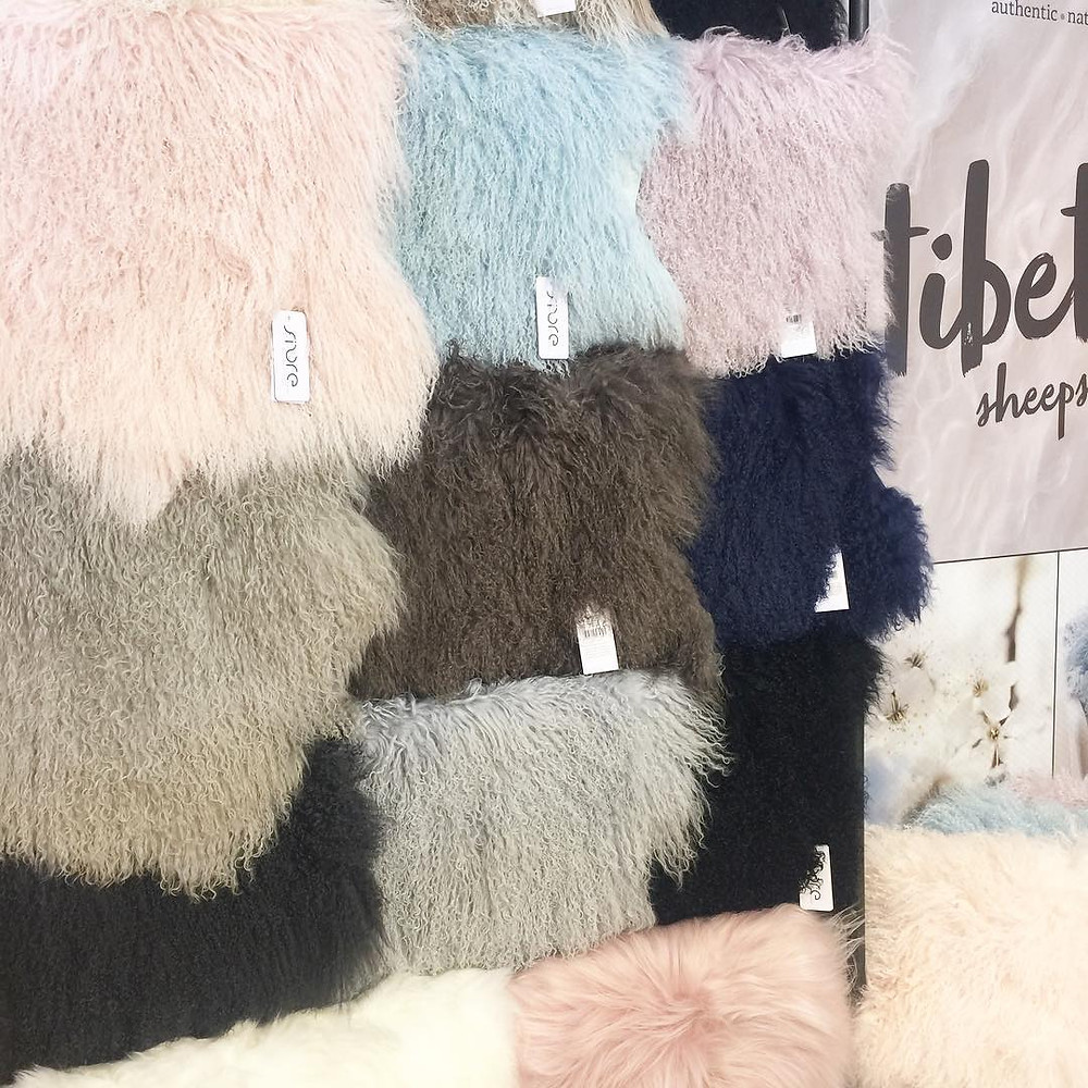 Maison and Objet, January 2019. Mongolian wool rugs