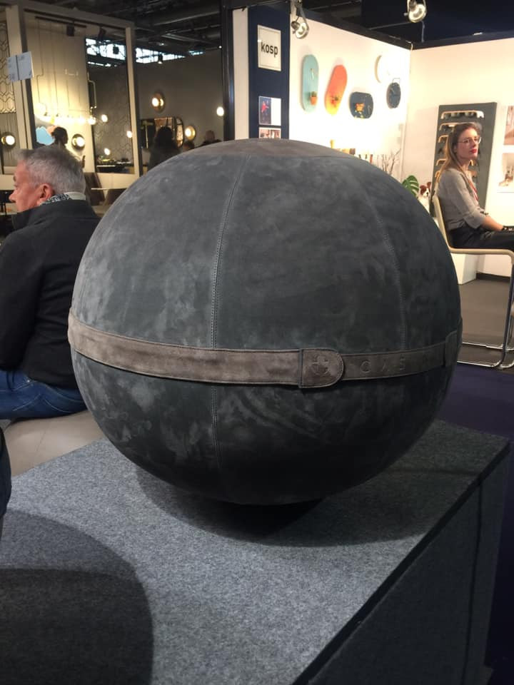 Maison and Objet, January 2019. Orb ottoman