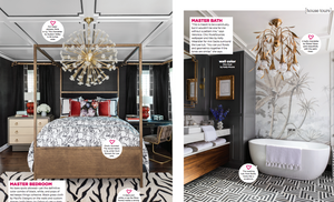 Master Bedroom And Master Bathroom From HGTV Magazine Feature June 2020
