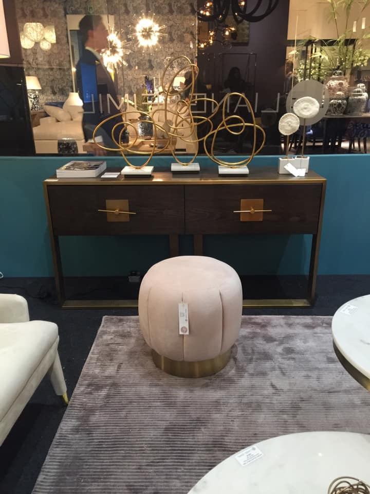 Maison and Objet, January 2019. Pouf ottoman