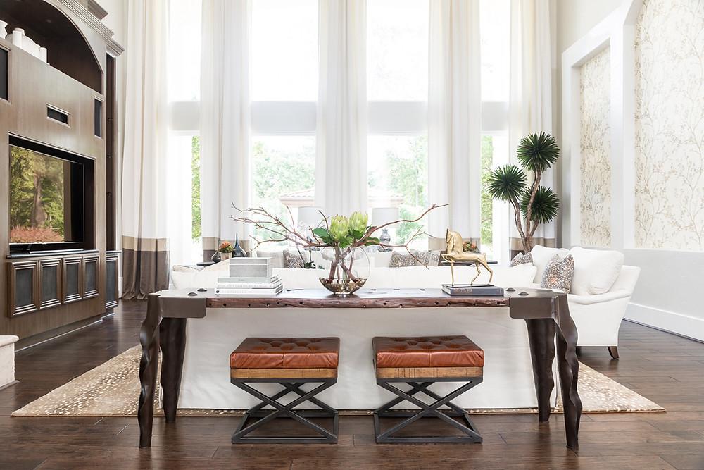 Living Room designed By Veronica Solomon