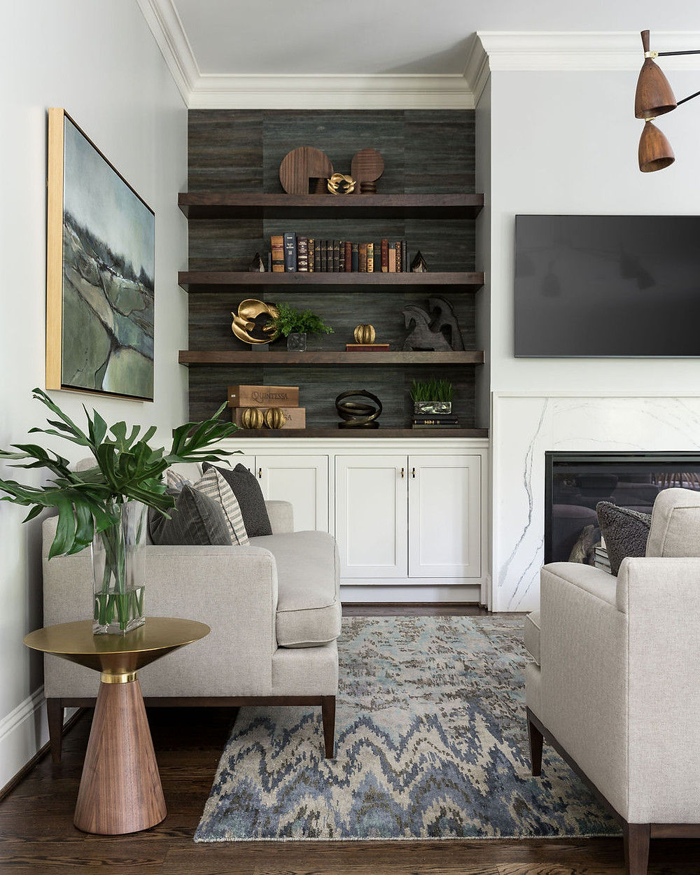 Image of: A Mid Century Modern Inspired Living Room Reveal