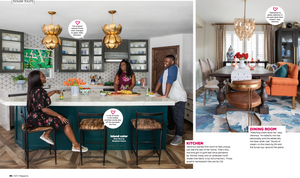 Page From HGTV Magazine Shoot. Kitchen And Dining Room