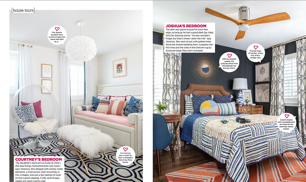 Page From HGTV Magazine Shoot
