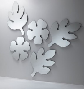 A Grouping of Lotus Leaf mirrors