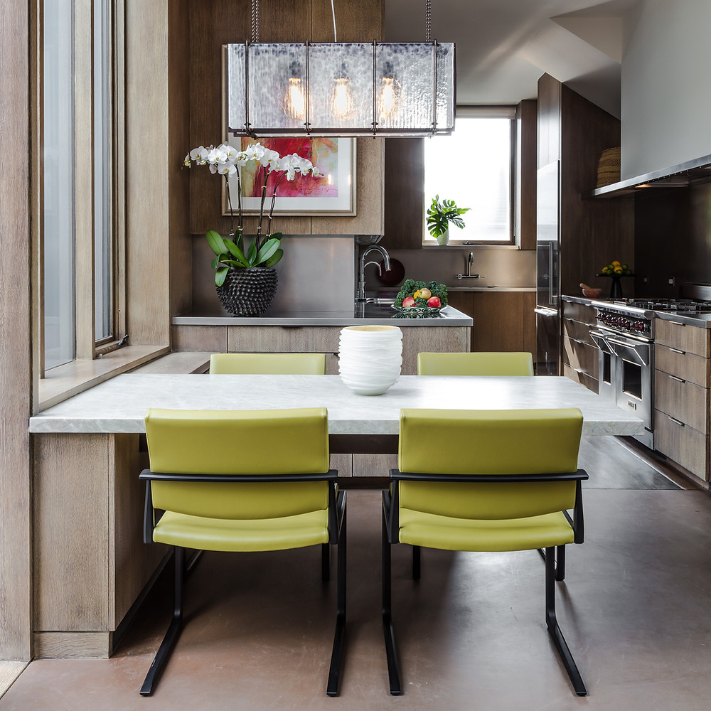 Tom Stringer kitchen with bold color