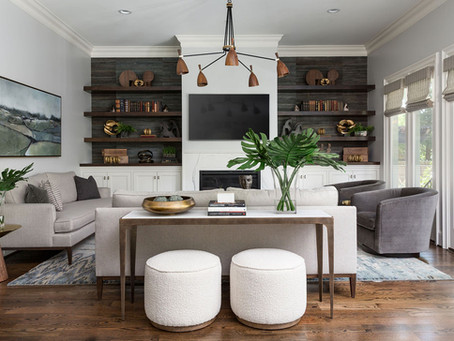 A Mid-Century Modern Inspired Living Room REVEAL