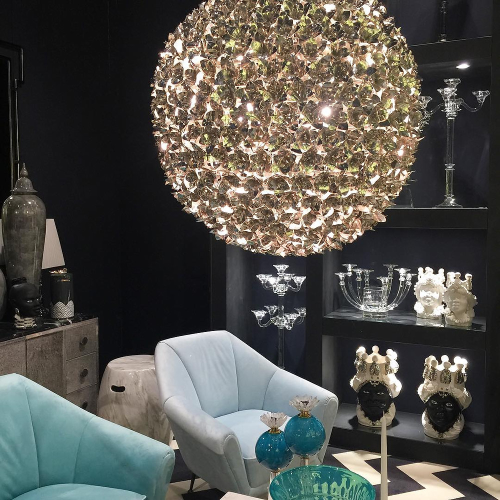 Maison and Objet, January 2019. Orb chandelier