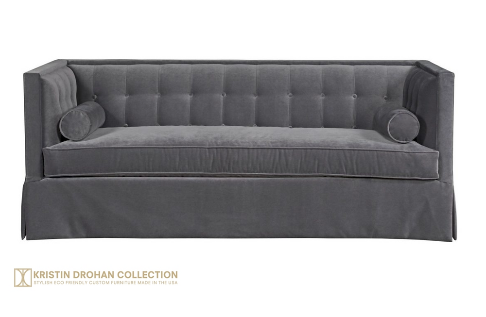 The Christopher Sofa by Kristin Drohan