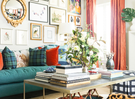 Living Simple In A Maximalist Space + My Living Room Tour