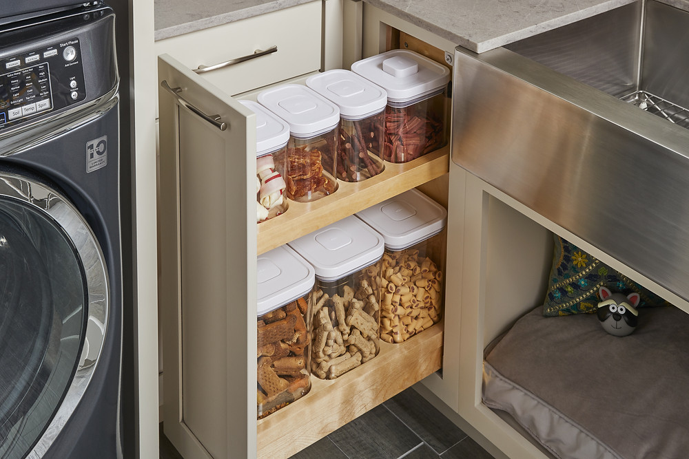 Wellborn Cabinetry Pull Out Vertical Storage