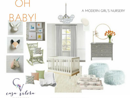 Oh Baby! Get The Look For A Modern Nursery