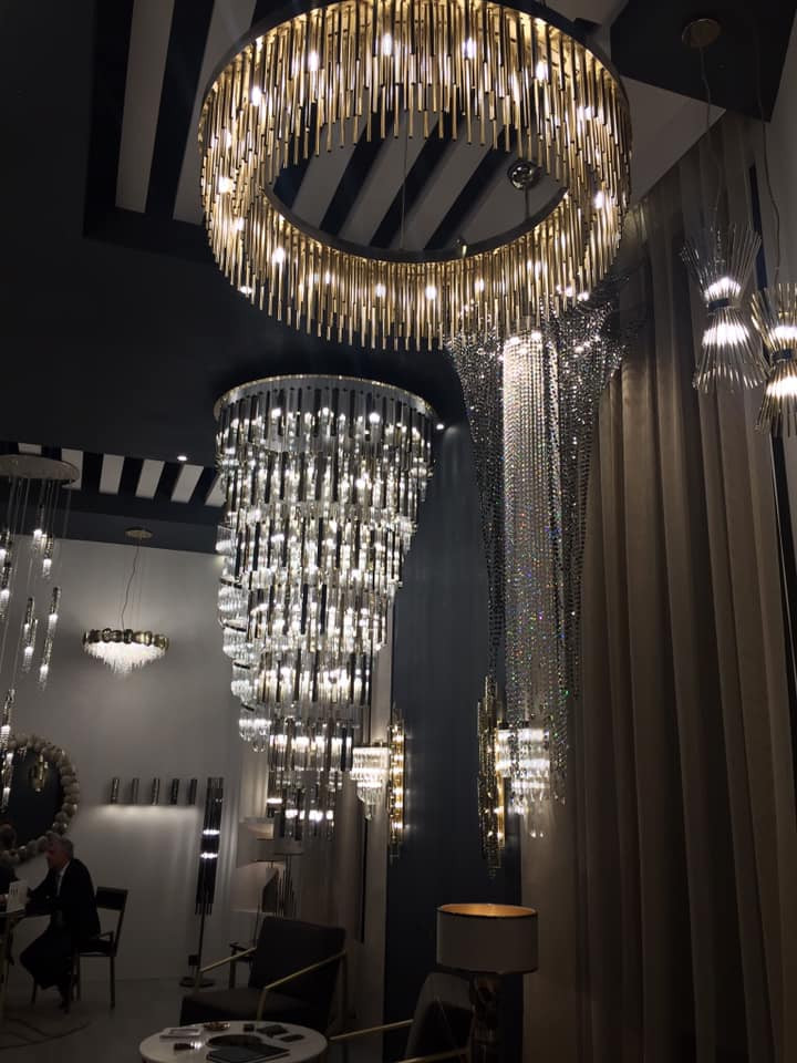 Maison and Objet, January 2019. Statement chandelier