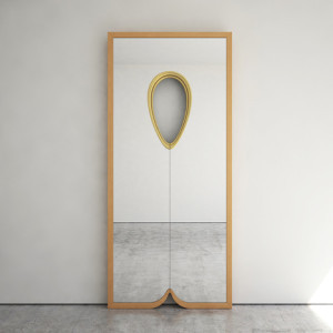 Another teardrop inspired mirror