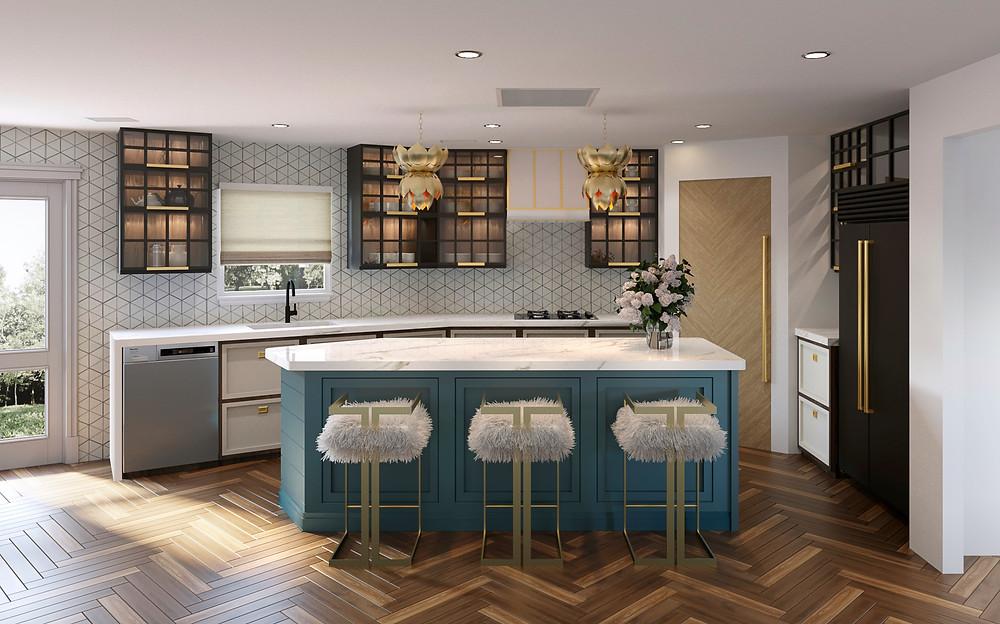 Casa Vilora Interiors Kitchen and Bath Remodel