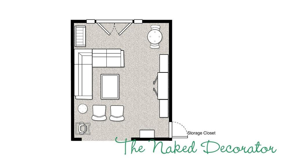Play Room Floor Plan Casa Vilora Interiors