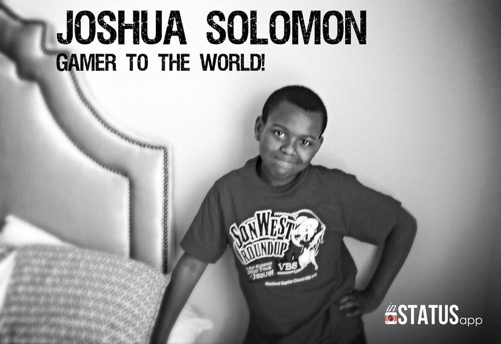 Joshua. Photo taken in 2013