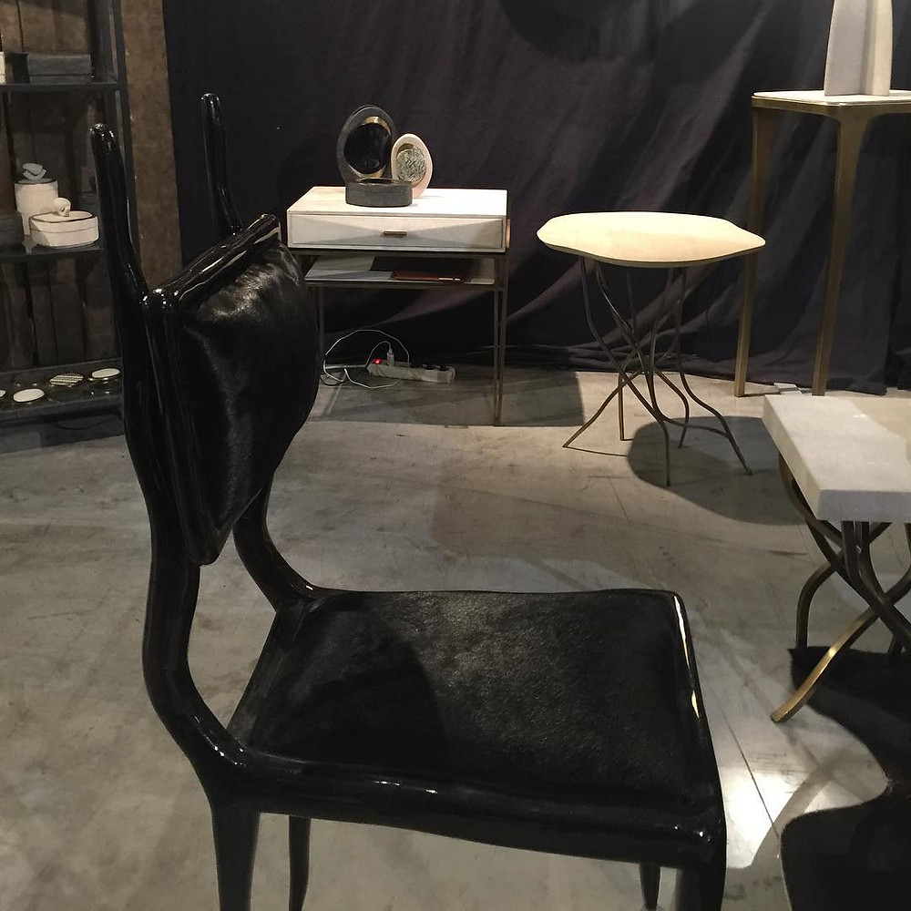 Maison and Objet, January 2019. Similar silhouette to the klismos chair