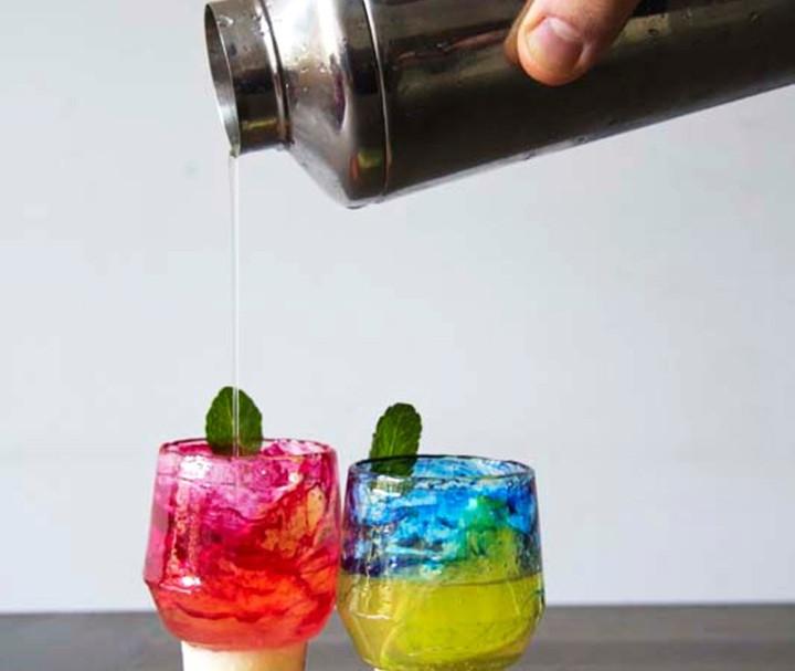 Sugar Glass Cocktail - Set of 10