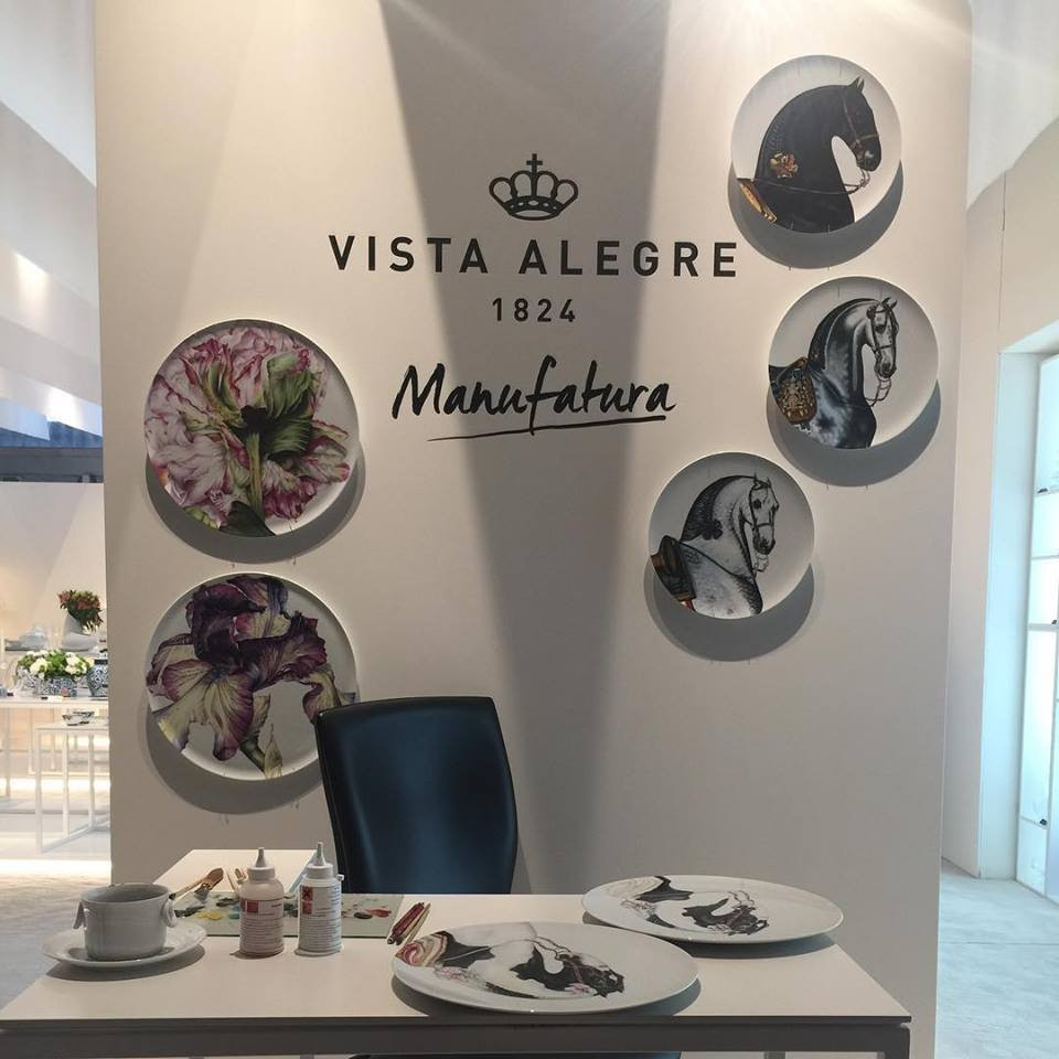 Maison and Objet, January 2019. Decorative plates from Vista Alegre