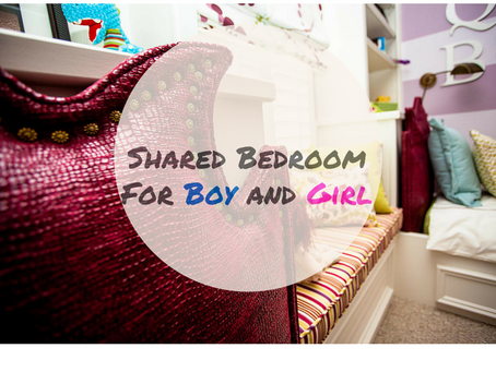 Decorating A Shared Bedroom For A Boy & Girl & How To Keep The Peace