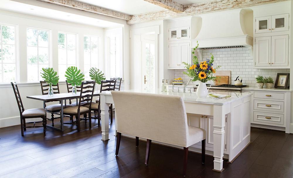 Wellborn cabinet white kitchen