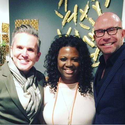 Dann Foley, Veronica, Beau Stinnette (Dann's Business Partner)