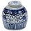 Thumbnail: Blue And White Ming Jar Climbing Vine Motif