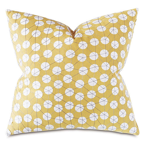 Ollie Embroidered Decorative Pillow