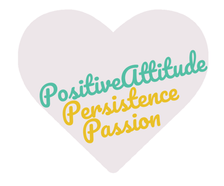 My 3P Personal Values: Passion, Persistence and Positive Attitude